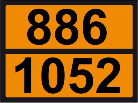 UN-Tafel 30 x 40 mit Eindruck 886 und 1052