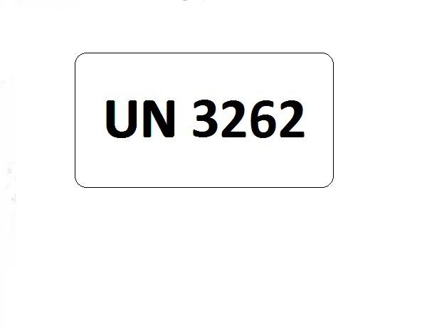 UN-Etiketten mit Eindruck UN 3262