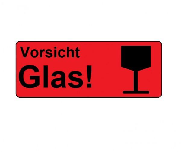 """Transportetikett """"Vorsicht Glas!"""""""