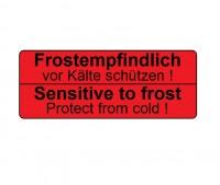 Frostempfindlich