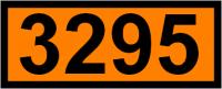UN-Tafel 12 x 30 cm UN3295