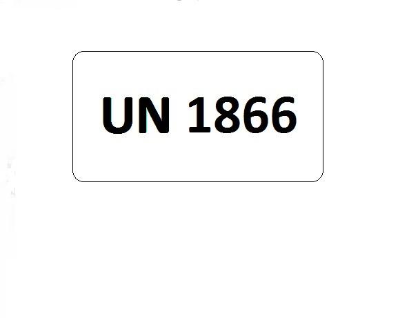 UN-Etiketten mit Eindruck UN 1866