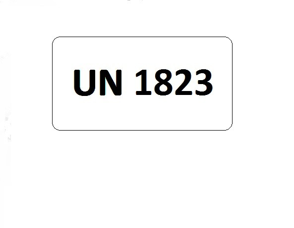 UN-Etiketten mit Eindruck UN 1823