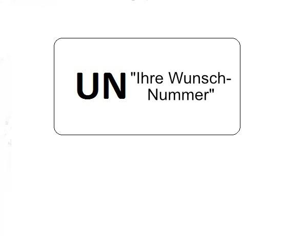 UNWunschnummer