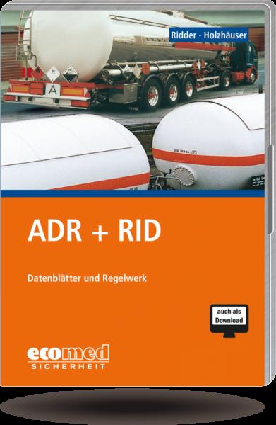 ADR + RID CD-ROM