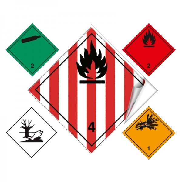 Musterpaket Gefahrgutkennzeichen ohne Text_10378900