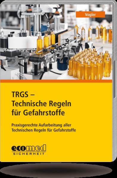 TRGS - Technische Regeln für Gefahrstoffe CD-ROM