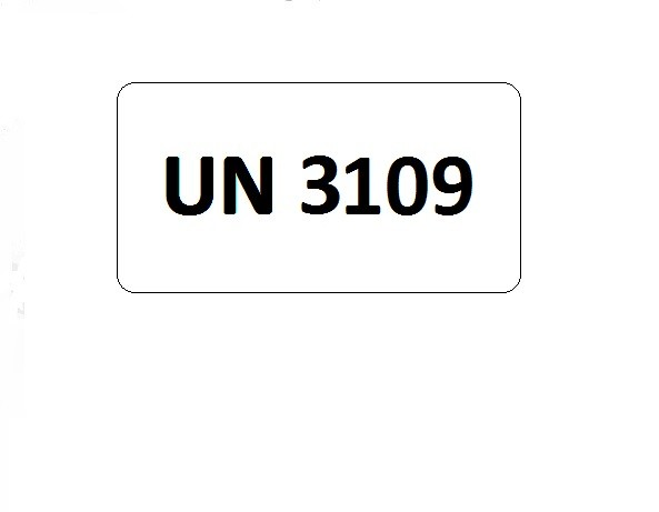 UN-Etiketten mit Eindruck UN 3109