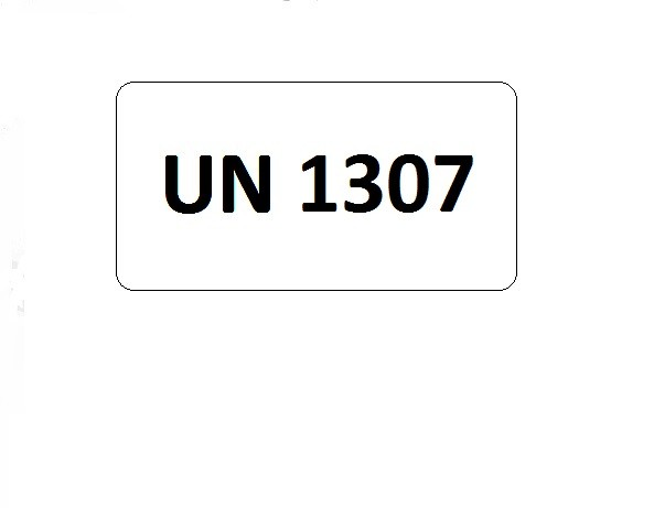 UN-Etiketten mit Eindruck UN 1307