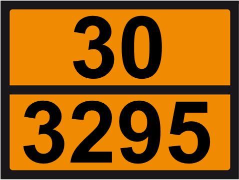 UN-Tafel 30 x 40 mit Eindruck 30 und 3295