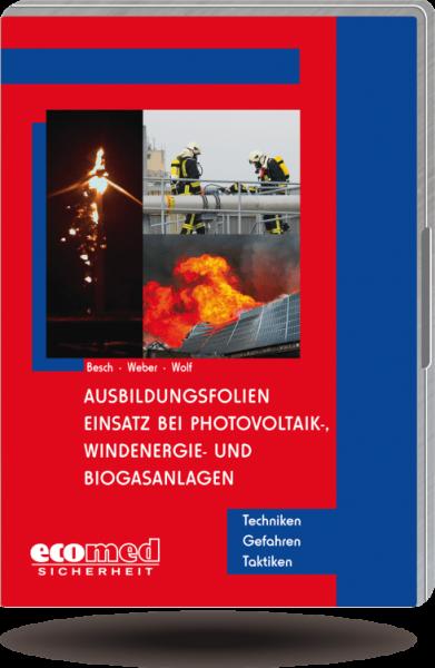 Ausbildungsfolien Einsatz bei Photovoltaik-, Windenergie- und Biogasanlagen CD/DVD