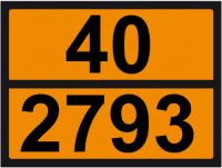 UN-Tafel 30 x 40 mit Eindruck 40 und 2793