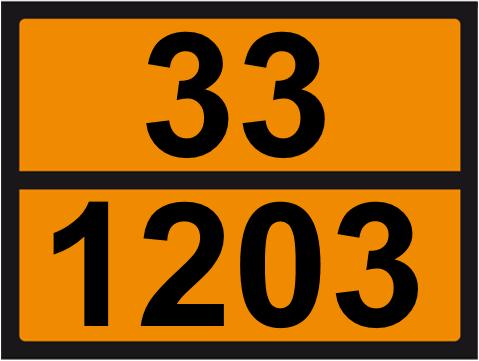 UN-Tafel 30 x 40 mit Eindruck 33 und 1203