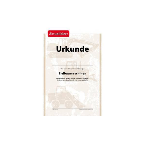 Urkunde_Erdbaumaschinen