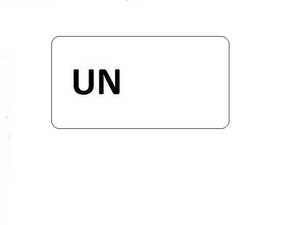 UN Blanko