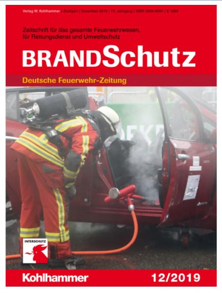BRANDSchutz/ Deutsche Feuerwehrzeitung