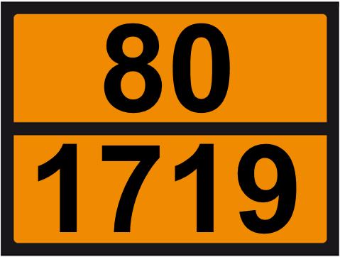 UN-Tafel 30 x 40 mit Eindruck 80 und 1719