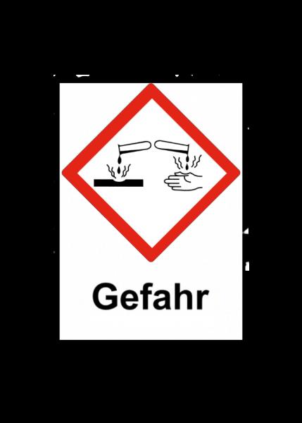 GHS05-Gefahr
