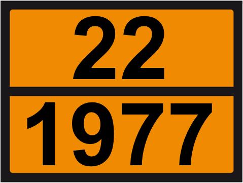 UN-Tafel 30 x 40 mit Eindruck 22 und 1977