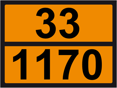 UN-Tafel 30 x 40 mit Eindruck 33 und 1170