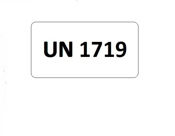 UN-Etiketten mit Eindruck UN 1719