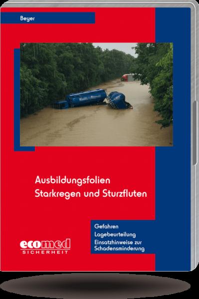 Ausbildungsfolien Starkregen und Sturzfluten