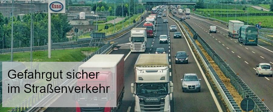 Gefahrguttransport auf der Straße