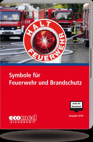 Symbole für Feuerwehr und Brandschutz