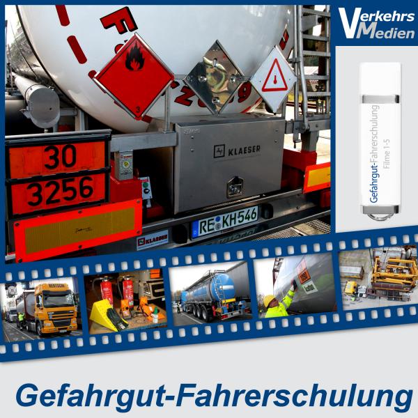 """Filmreihe """"Gefahrgut-Fahrerschulung"""" nach ADR 2017"""