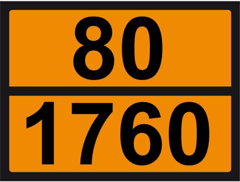 UN-Tafel 30 x 40 mit Eindruck 80 und 1760