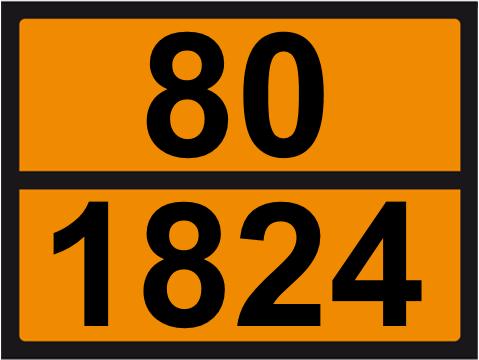 UN-Tafel 30 x 40 mit Eindruck 80 und 1824