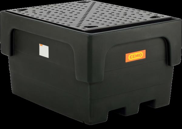 IBC-Auffangwanne-1100-1-PE-mit-PE-Lochplatte