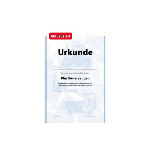 Urkunde_Flürförderzeug