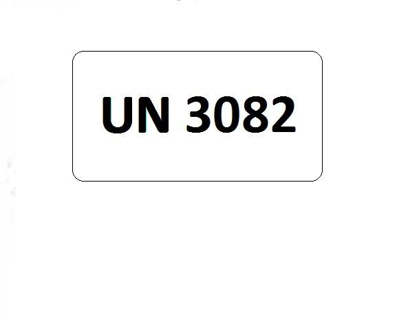 UN-Etiketten mit Eindruck UN 3082